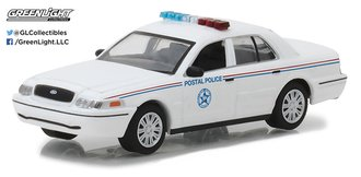 "1:64 2010 Ford Crown Victoria ""United States Postal Service (USPS)"""
