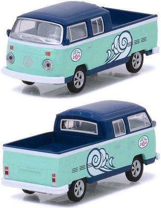 """1:64 Volkswagen Type 2 Double Cab Pickup """"Doka"""" - Hawaii Surf Shop"""