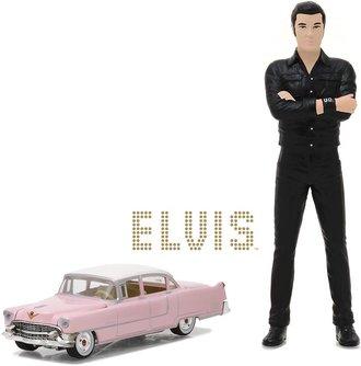 "1:64 Elvis Presley (1935-77) - 1955 Cadillac Fleetwood Series 60 ""Pink Cadillac"" w/1:18 Elvis Figure"