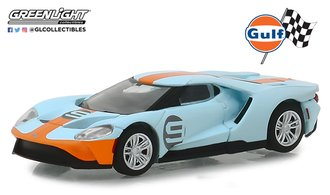 "1:64 2017 Ford GT ""Gulf Oil Racing #9"""