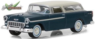 1:64 Estate Wagons Series 1 - 1955 Chevrolet Nomad (Glacier Blue/Shoreline Blue)