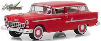 "1:64 Estate Wagons Series 1 - 1955 Chevrolet Two-Ten ""Handyman"" (Gypsy Red)"