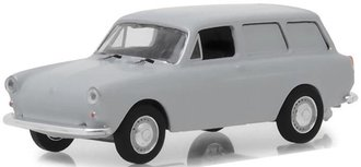 1:64 Estate Wagons Series 1 - 1965 Volkswagen Type 3 Squareback Panel (Light Grey)