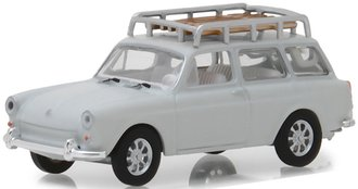 1:64 Estate Wagons Series 1 - 1968 Volkswagen Type 3 Squareback w/Roof Rack (Lotus White)
