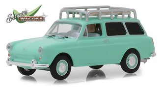 1:64 Estate Wagons Series 2 - 1965 Volkswagen Type 3 Squareback w/Roof Rack (Birch Green)