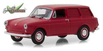 1:64 Estate Wagons Series 2 - 1968 Volkswagen Type 3 Panel Van (Velour Red)
