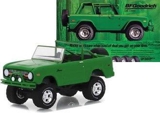 "1:64 BFGoodrich Vintage Ad Cars - 1971 Ford Bronco ""Take Control"""