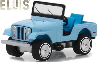 "1:64 Elvis Presley (1935-77) - Jeep CJ-5 ""Sierra Blue"""