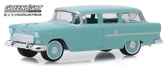 1:64 Estate Wagons Series 4 - 1955 Chevrolet Two-Ten Townsman (Sea Mist Green)