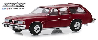 1:64 Estate Wagons Series 4 - 1976 Pontiac Grand LeMans Safari Wagon (Red)