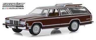 1:64 Estate Wagons 4 - 1980 Mercury Grand Marquis Colony Park (Dark Chamois Metallic w/Woodgain)