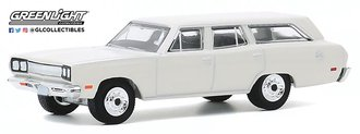 1:64 Estate Wagons Series 5 - 1969 Plymouth Satellite Station Wagon (Alpine White)