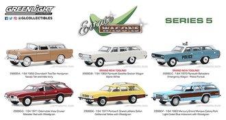 1:64 Estate Wagons Series 5 (Set of 6)
