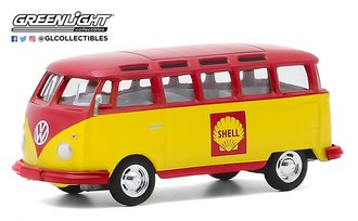 "1:64 Club Vee-Dub Series 11 - 1964 Volkswagen Samba Bus ""Shell Oil"""