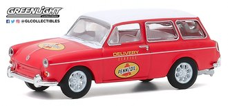 """1:64 Club Vee-Dub Series 11 - 1965 Volkswagen Type 3 Squareback """"Pennzoil Delivery Service"""""""