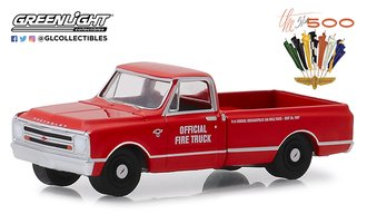 "1:64 1967 Chevrolet C-10 Pickup ""51st Annual Indianapolis 500 Mile Race Official Fire Truck"""
