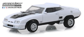 1:64 1973 Ford Falcon XB Custom (Polar White with Black Stripes)