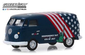 """1:64 Volkswagen Type 2 Panel Van """"Independence Day 2019"""""""