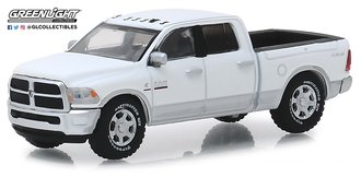 "1:64 2018 RAM 2500 Big Horn Pickup Truck ""Harvest Edition"" (Bright White/Bright Silver)"