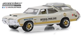 1:64 1972 Oldsmobile Vista Cruiser 56th Annual Indianapolis 500 Mile Race Pace Car-Medical Director
