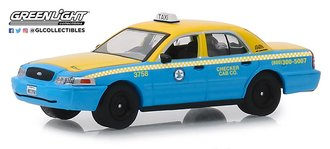"1:64 2011 Ford Crown Victoria ""Checker Cab Co. Taxi - Los Angeles, CA"""