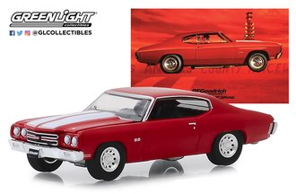 """1:64 BFGoodrich Vintage Ad Cars - 1970 Chevrolet Chevelle """"When You're Ready to Get Serious"""""""