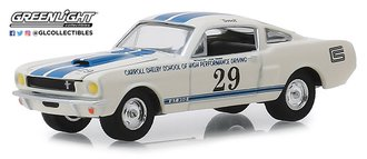 1:64 1965 Shelby GT350 #29 Carroll Shelby School of High Performance Driving