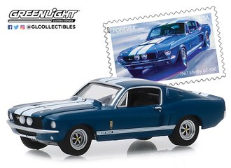 "1:64 1967 Shelby GT500 - United States Postal Service (USPS) ""America on the Move: Muscle Cars"""