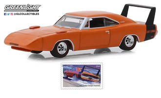 "1:64 1969 Dodge Charger Daytona - U.S. Postal Service (USPS) ""America on the Move: Muscle Cars"""