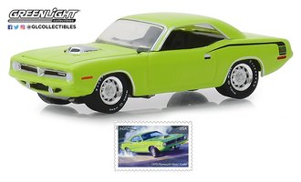 1:64 1970 Plymouth HEMI 'Cuda - U.S. Postal Service (USPS) America on the Move: Muscle Cars