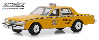 "1:64 1987 Chevrolet Caprice ""New York City Taxi Cab"""