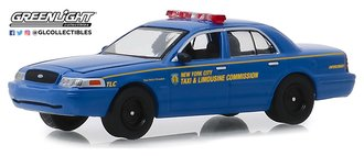"1:64 2011 Ford Crown Victoria ""New York City Taxi and Limousine Commission"""