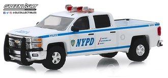 "1:64 2015 Chevrolet Silverado Pickup ""New York City Police Dept (NYPD)"""