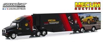 "1:64 Kenworth T2000 Mecum Auctions Mecum Auto Transport ""From the Auction Floor to Your Garage Door"""