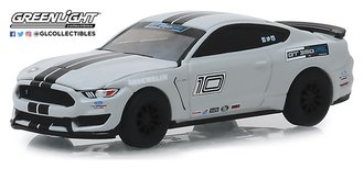 "1:64 2016 Mustang Shelby GT350 ""Ford Performance Racing School Track Attack #10"" (Avalanche Grey)"