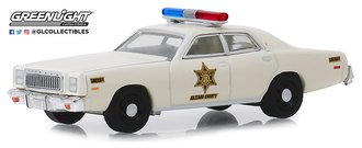 "1:64 1977 Plymouth Fury ""Hazzard County Sheriff"""