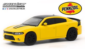1:64 2017 Dodge Charger Daytona HEMI - Pennzoil Advertisement Car