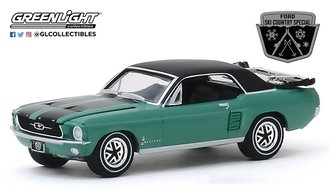 """1:64 1967 Ford Mustang Coupe """"Ski Country Special"""" (Loveland Green)"""