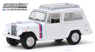 1:64 1971 Kaiser Jeep Jeepster Commando - Hurst Edition