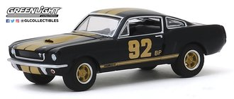 "1:64 1966 Shelby Mustang GT350H ""#92 BP"" (Black w/Gold Stripes)"