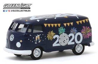 """1:64 Volkswagen Type 2 Panel Van """"New Year 2020"""""""