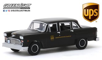 "1:64 1975 Checker Taxicab Parcel Delivery ""United Parcel Service (UPS) Canada Ltd."""