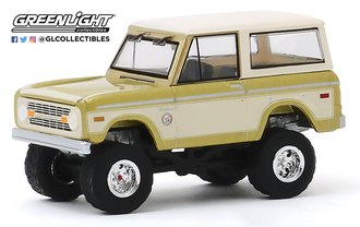 1:64 1976 Ford Bronco - Colorado Gold Rush Bicentennial Special Edition