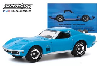 "1:64 BFGoodrich Vintage Ad Cars - 1969 Chevrolet Corvette ""Objects In Mirror Are About To Disappear"