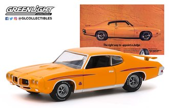"1:64 BFGoodrich Vintage Ad Cars - 1970 Pontiac GTO Judge ""The Right Way To Appoint A Judge"""