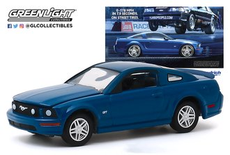 "1:64 BFGoodrich Vintage Ad Cars - 2009 Ford Mustang GT ""0-178 MPH In 7.9 Seconds. On Street Tires"""