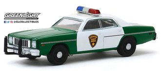 "1:64 1975 Plymouth Fury ""Chickasaw County Sheriff"""
