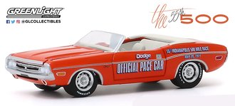 "1:64 1971 Dodge Challenger Convertible ""55th Indianapolis 500 Mile Race Dodge Official Pace Car"""