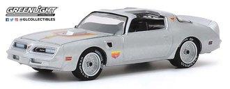 "1:64 1977 Pontiac Firebird ""Fire Am"" by Very Special Equipment (VSE) (Silver w/Hood Bird)"