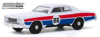 "1:64 1976 Plymouth Fury ""Hazzard County Road Rally #86"""